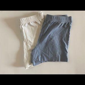 Carters Girls 2 piece Bundle Shorts
